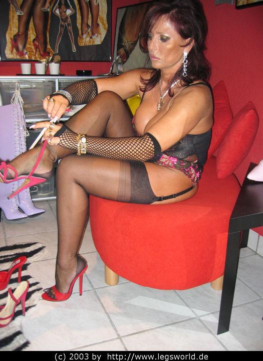 Leg domination lady b