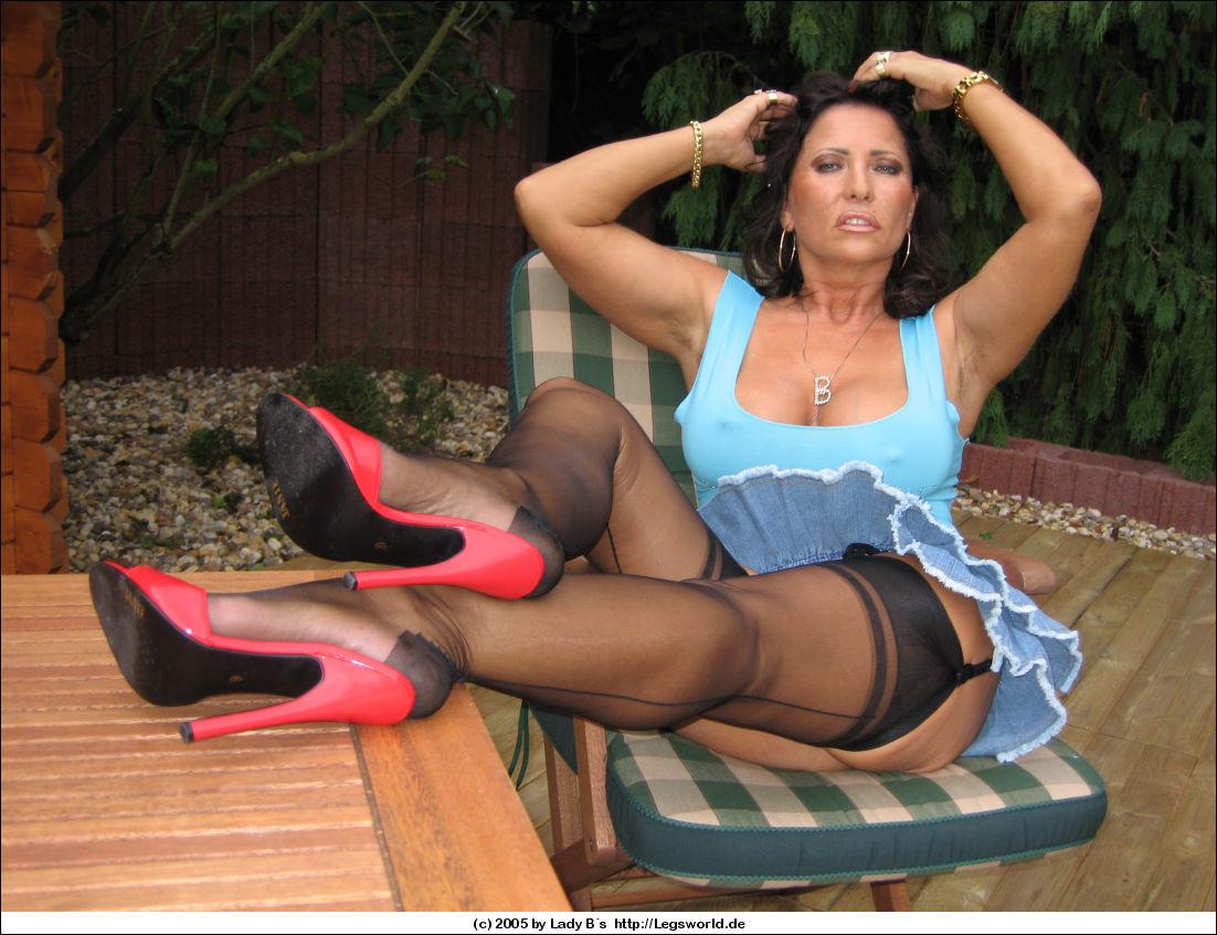 Commit error. Lady barbara high heels