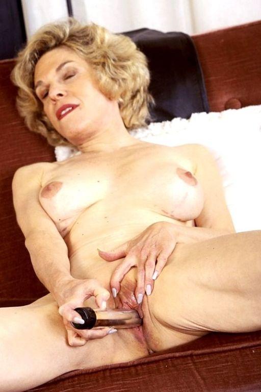 Old big titty granny masturbating her aged mature