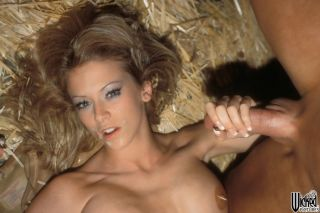 Jenna Jameson Gets Hardcored On A Hay