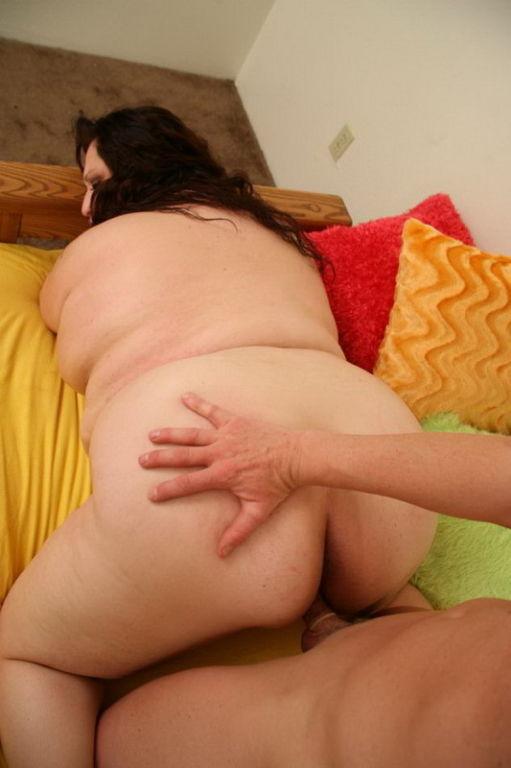 Fat chubby BBW freak sucking cock fucked hardcore