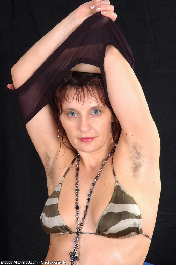 bikini hairy pussy