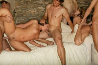 Kinzie Kenner caught up in a wild orgy