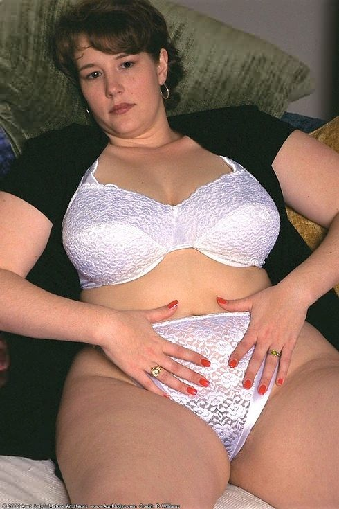 Big tits mature bra