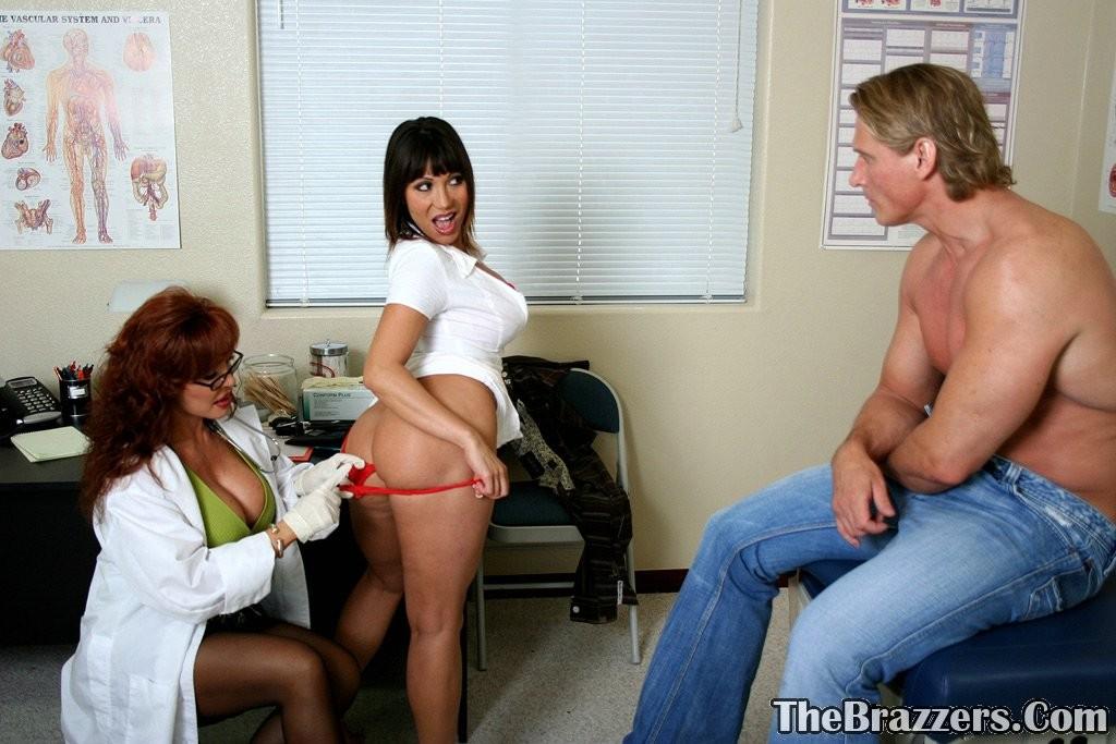 Nurse Fucks Patient Threesome
