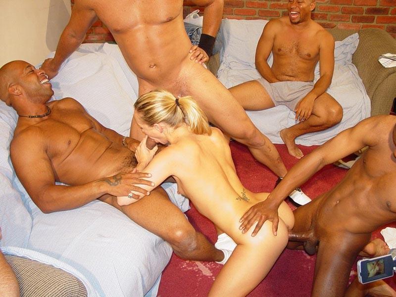 Hot blonde slut gangbang images 183