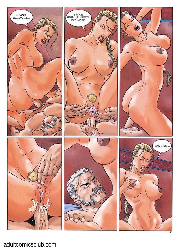 Adult sex comic