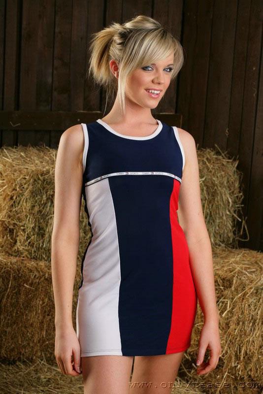 Have Blonde barn nude were