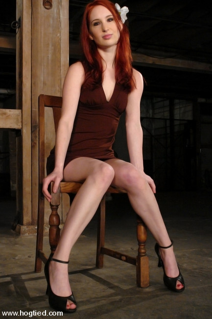 The sexy bound red head girl phrase magnificent