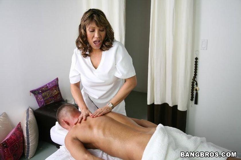 Mature Japanese Massage Sex