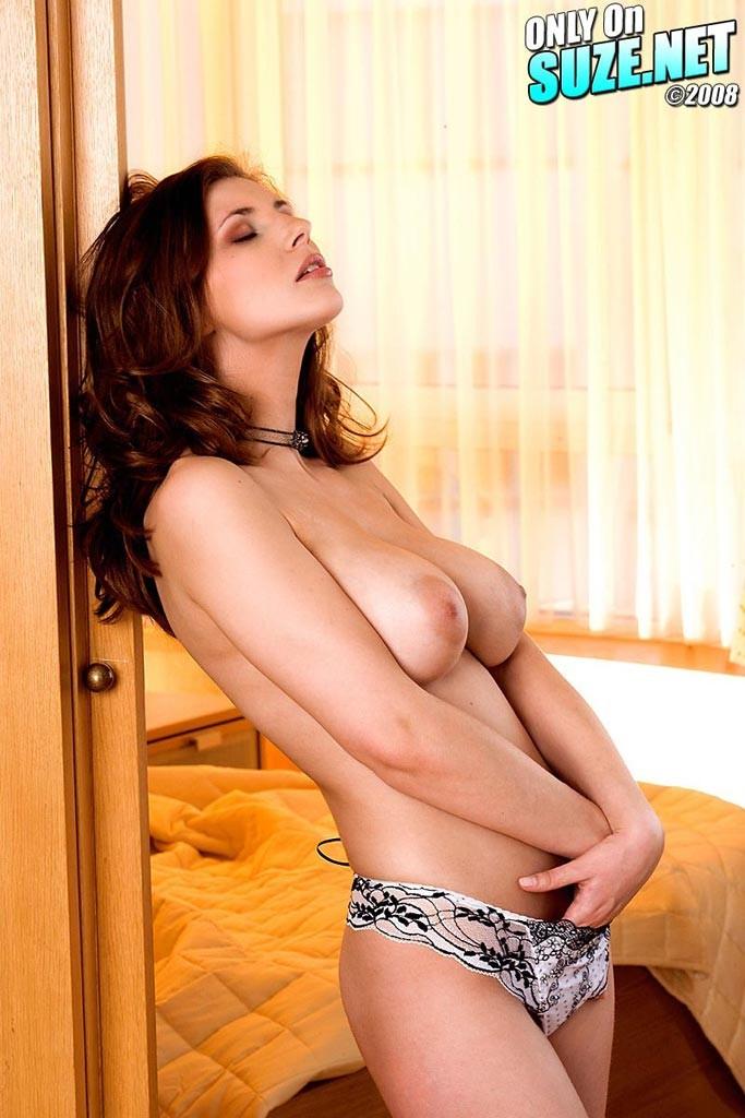 Selfie of nude women