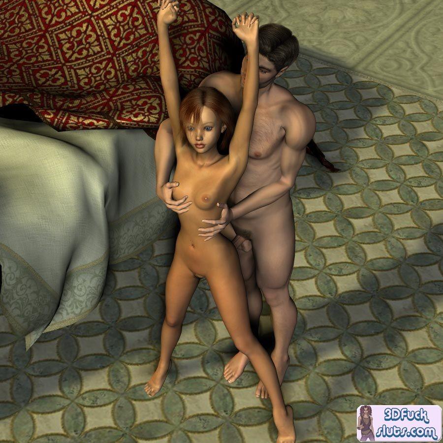 Cartoon nude video