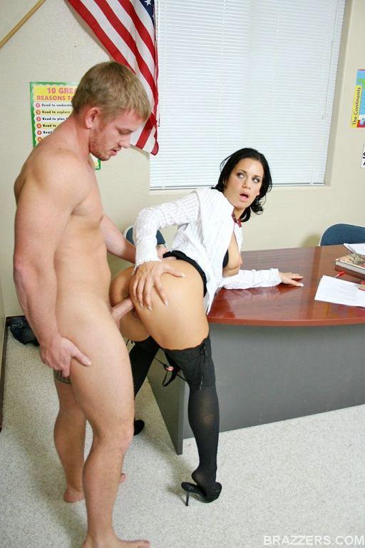 Slutty schoolgirl Mia gets fucked