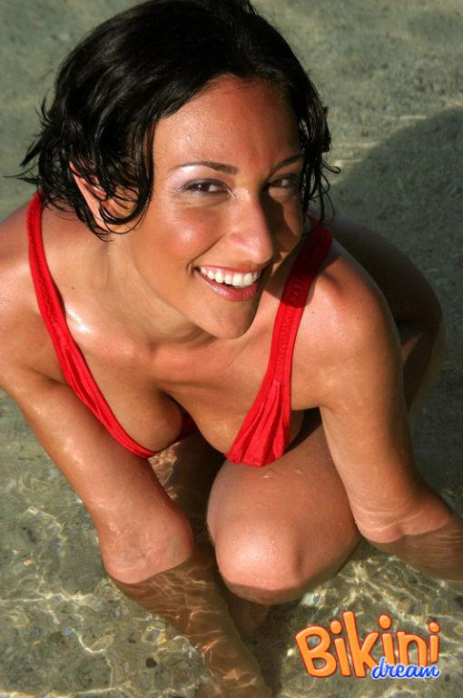 Something is. amateur bikini sling have