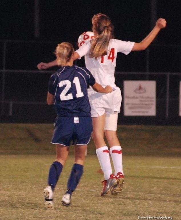 sporty soccer chicks