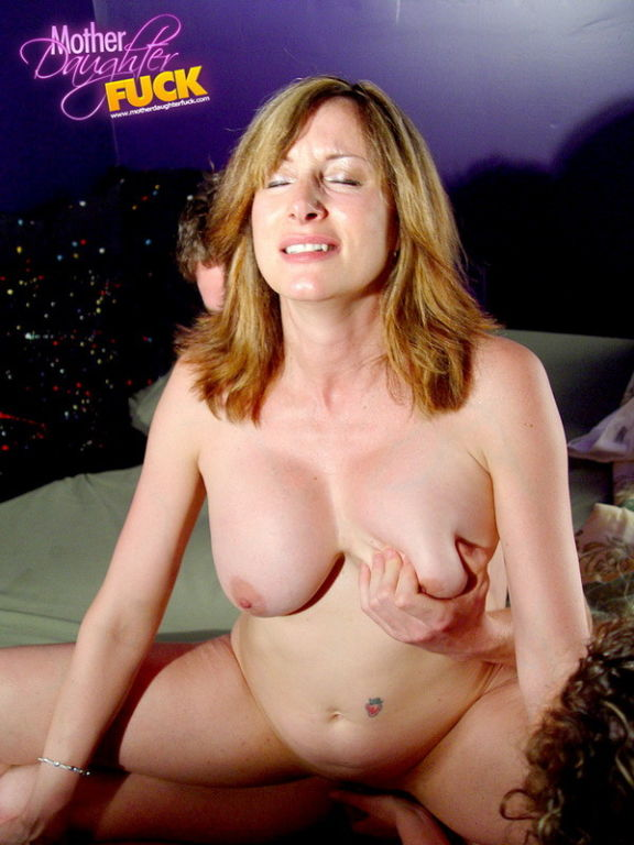 Horny milf and her busty coed daughter hardcore th