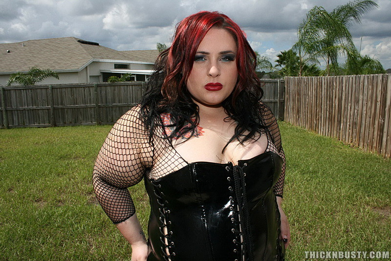 Very pity goth chubby girl big tits the