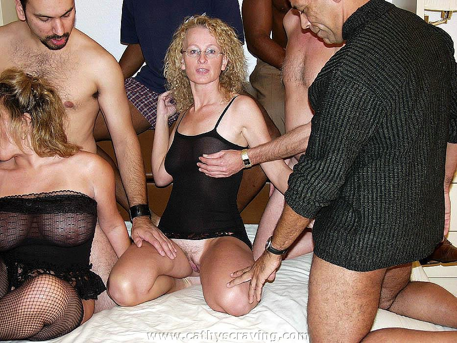 lingerie cum orgy - Wild wives massive cum gangbang orgy - Pichunter