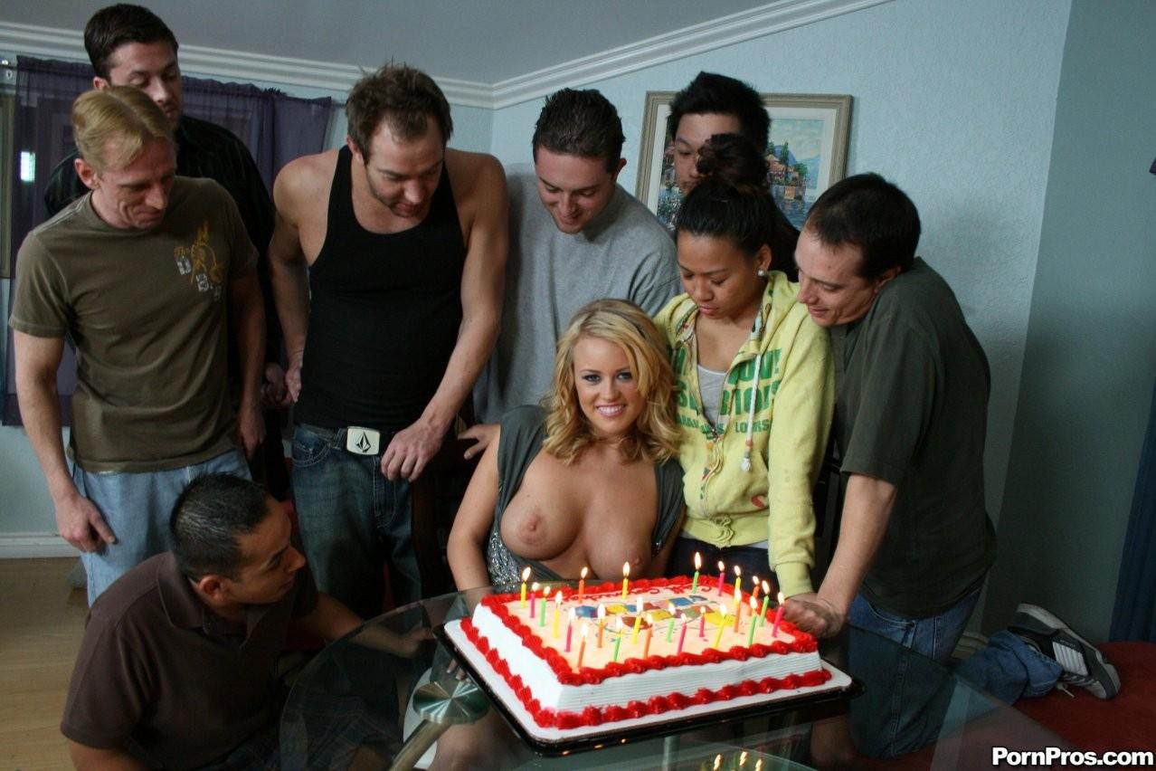 Birthday cum surprise, movie schlongs tranny