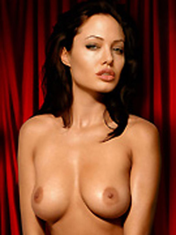 Angelin a jolie nude entertaining