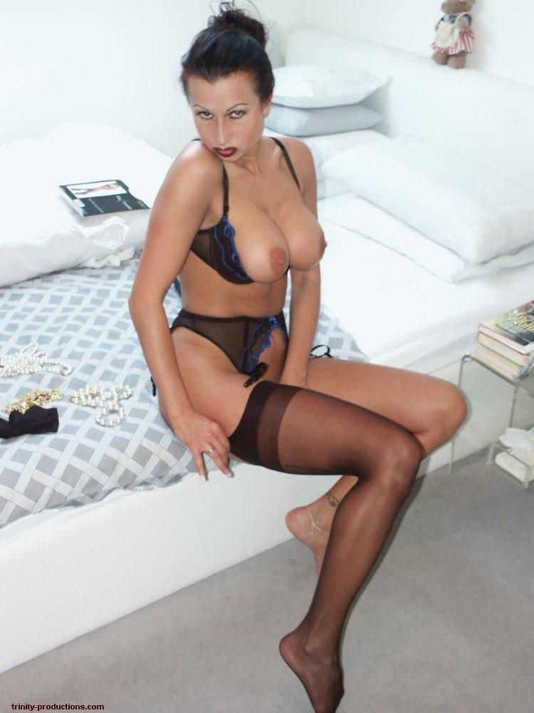 naked Trinity nipples nylon · nude Trinity german stocking slut trinity ...
