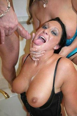 Lisa Sparxxx Deepthroating A Cock