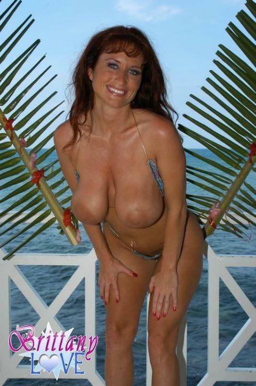 Brittany Love In A Tiny Bikini