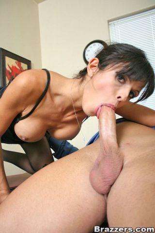 naked hardcore -big tits at work