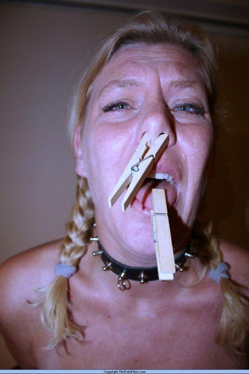 Dutch amateur female slave in bound breast bdsm an
