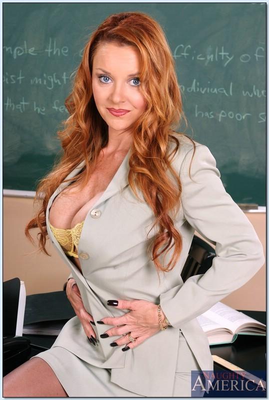 Redhead teacher porn