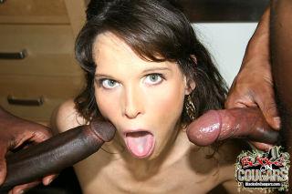 hot MILF Syren De Mer gets gangbanged by huge cock