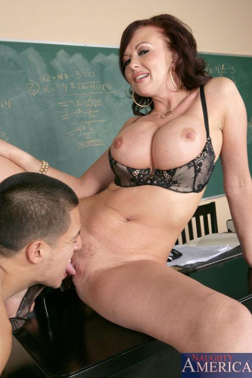 Professor Felony Foreplay is a horny teacher. She