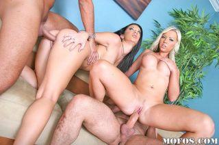 Robyn Truelove in a wild orgy