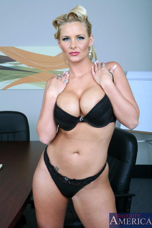 Phoenix Marie is a hot blonde bombshell. She'll