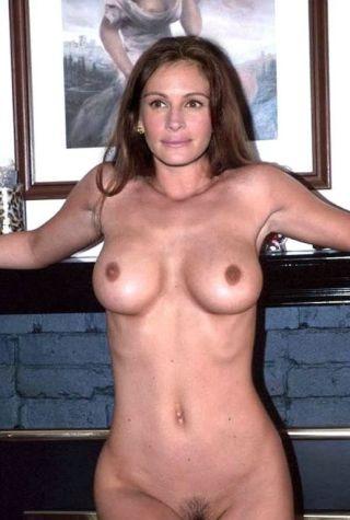 Amusing julia robert nue fake