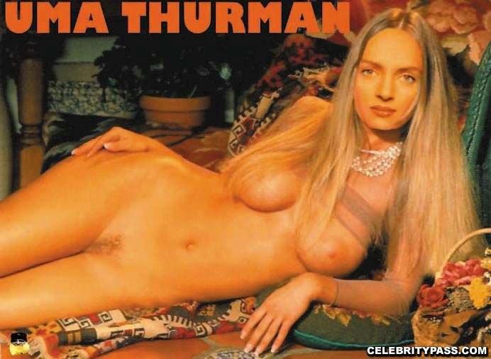 Uma thurman butt naked porno