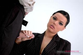 Secretary Slut Tine Marie Sucks and Fucks Her Boss