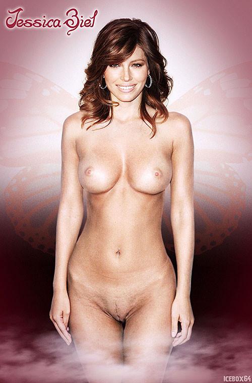 Consider, jessica biel fake lesbian nude