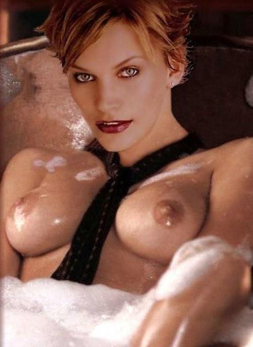Natasha henstridge nude tits