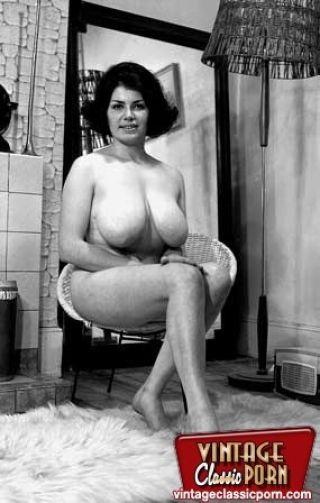 Vintage Mature Big Breasted