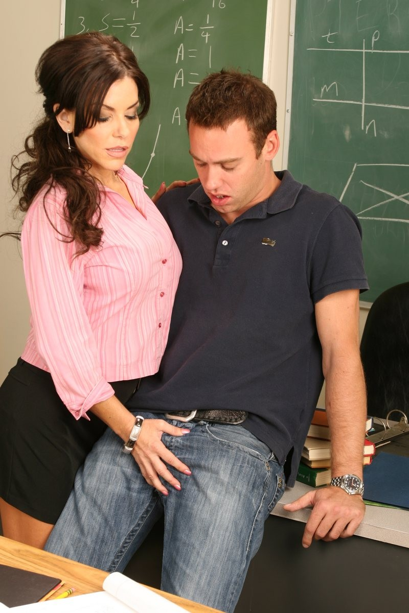 Student Licks Teacher Class