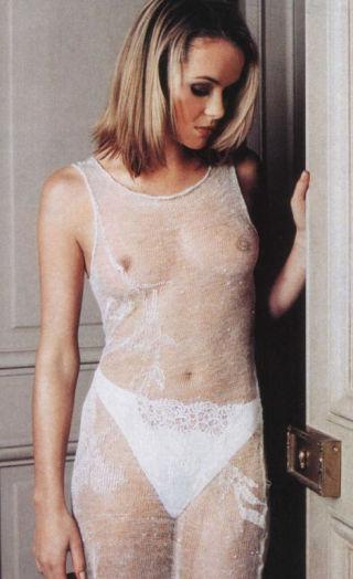 naked stockings bikini
