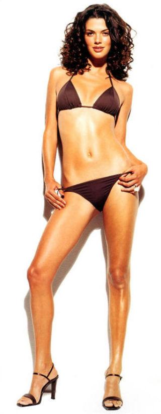 naked bikini stockings