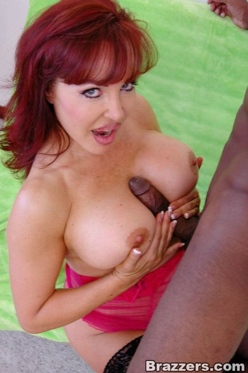 Monster titties Vanessa pussy banged by black dude