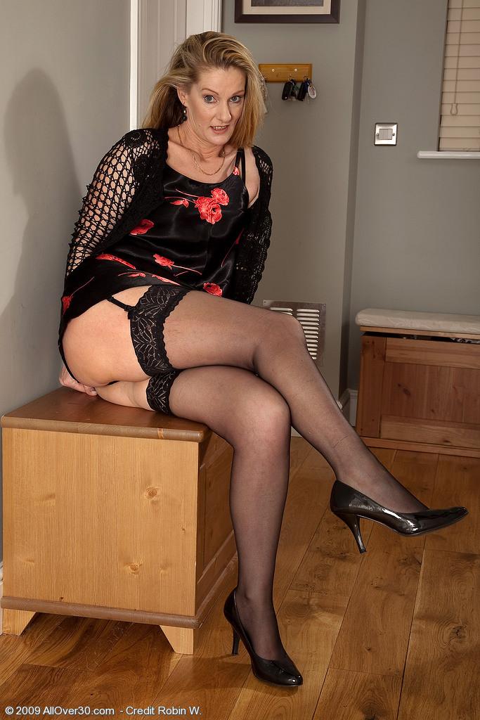 Mature stocking pics