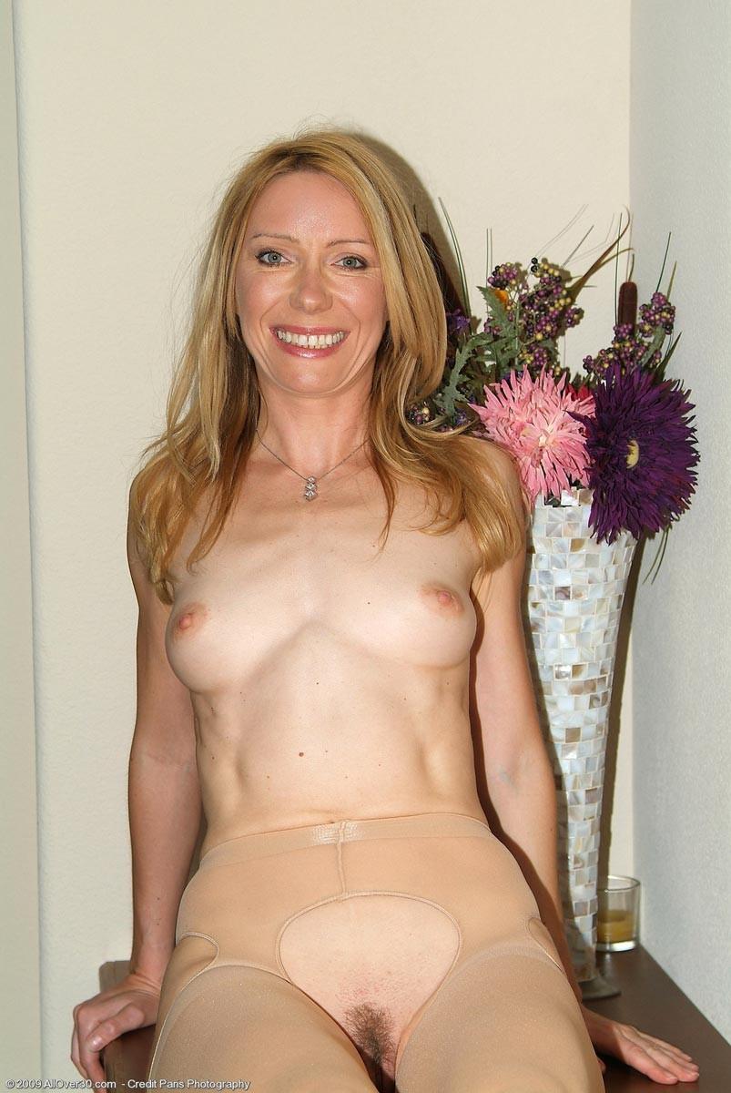 Pantyhose housewife posing entertaining answer