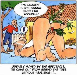Porn comics of titi frecoteur and mature fucks by