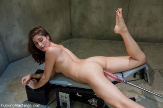 Kara Dax in double machine penetration getting scr