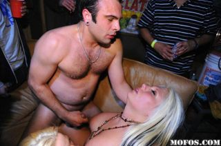 Big tits blonde coed hardcore sex and cumshot at o