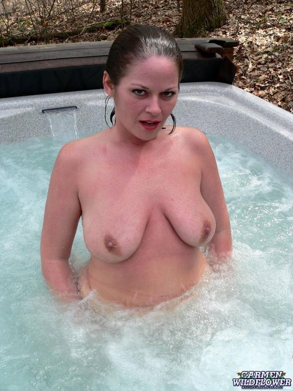 Girls licking own nipple